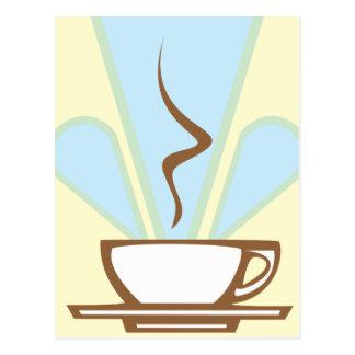 Deco Coffee Postcard