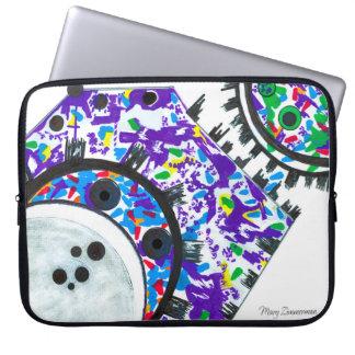 """""""Deco Cogs"""" 13"""" laptop sleeve"""