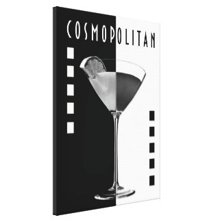 Deco Cosmo Gallery Wrapped Canvas