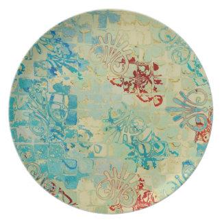 Deco Creative Design Plate