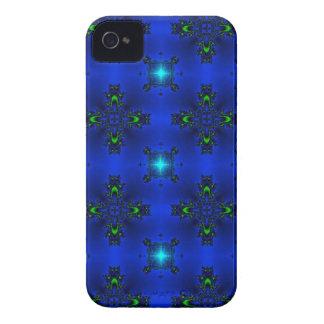 Deco de especie en Retro Style sternchen verde azu iPhone 4 Case-Mate Fundas
