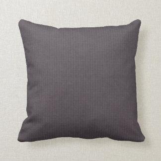 Deco de lino de la mirada de la berenjena púrpura almohadas