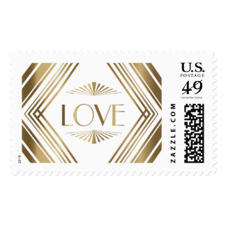 Deco Diamond Love Ivory | Atelier Isabey Stamps