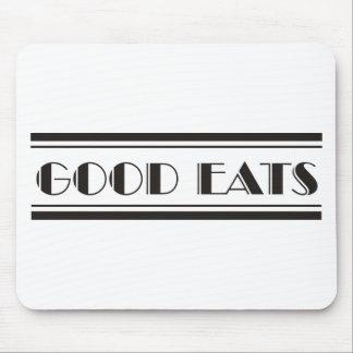 Deco Eats Mouse Pad