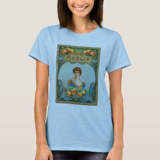Deco Fabric Label Art Royal Muslin T-shirt