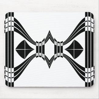 Deco Fish Tail Crest Mousepad