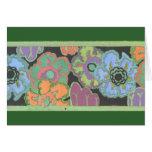 Deco Floral Card