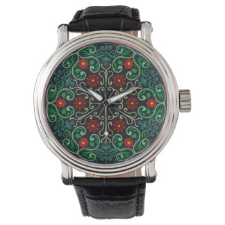 Deco Floral Elegance Watch