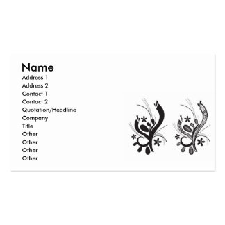 deco-floral-vector-10106-large, Name, Address 1... Business Card
