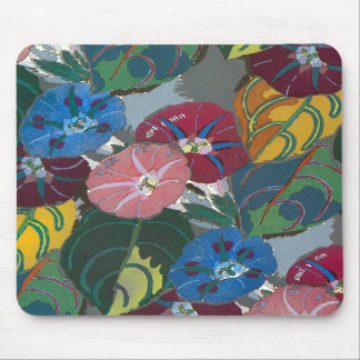 Deco Flowers and Leaves Mouse Pads