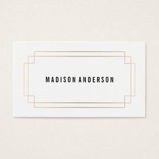Deco Frame | Business Cards