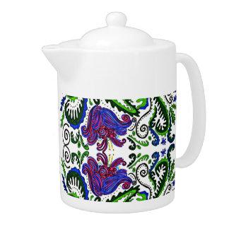 Deco Garden Teapot