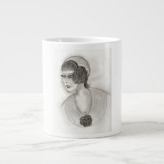 Deco Girl 4 Giant Coffee Mug