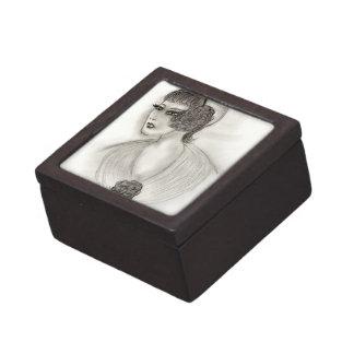 Deco Girl IV Keepsake Box