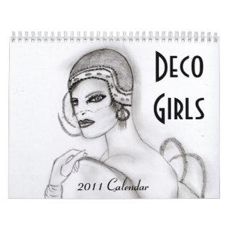 Deco Girls Calendar I