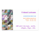Deco Glass Mosaic Customizable Business Cards
