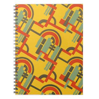Deco Gold Geo Notebook