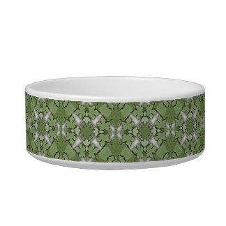Deco Grapevine Geometric Pet Bowl