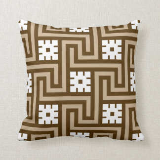 Taupe tan pillows decorative throw pillows zazzle - Deco taupe ...