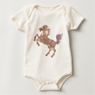 Deco Horse Baby Bodysuit
