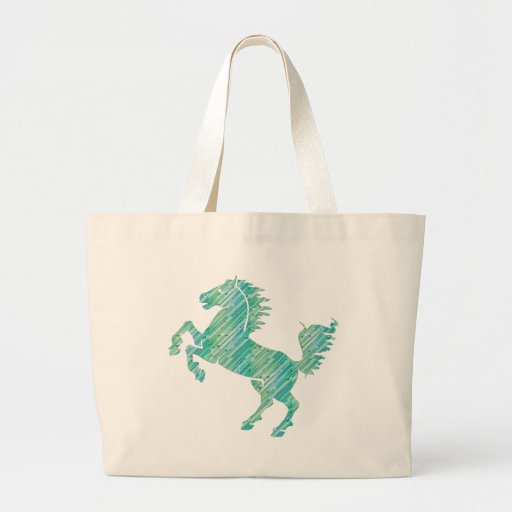 Deco Horse Tote Bags