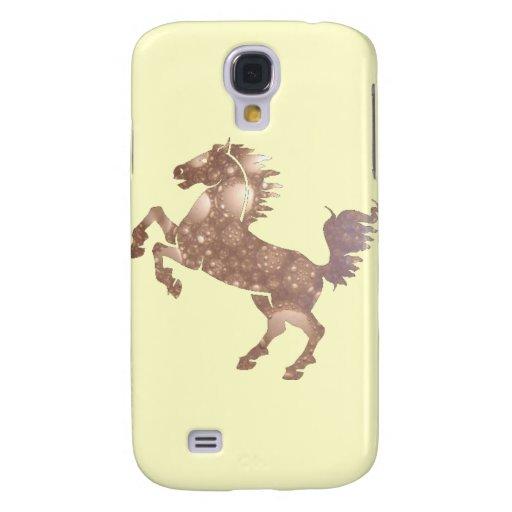 Deco Horse Galaxy S4 Cases