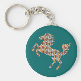 Deco Horse Keychain