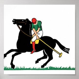 Deco Horse Polo Print