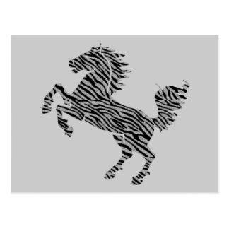 Deco Horse Postcard