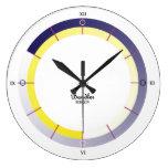 Deco II Large Clock by David M. Bandler