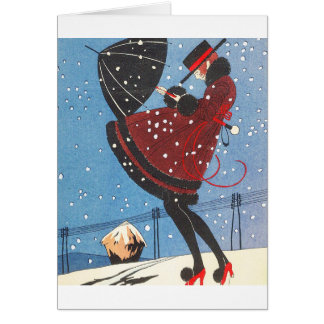 Deco Illustration Card