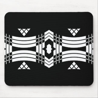 Deco Inspired Banner Mousepad