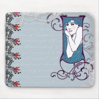 Deco Lady Mouse Pad
