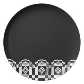 Deco Marquis, Dinner Plate