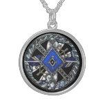 deco medallion jewelry
