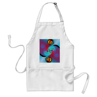 Deco no. 1 created by Tutti Adult Apron