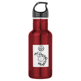 Deco-onstruction Stainless Steel Water Bottle