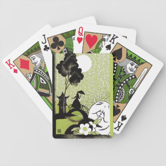 DECO PAGODA chow Bicycle Playing Cards