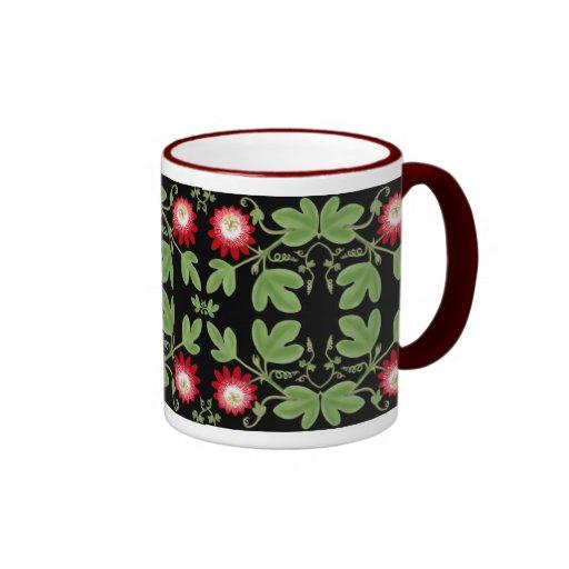 Deco Passion Flower Vines Mug