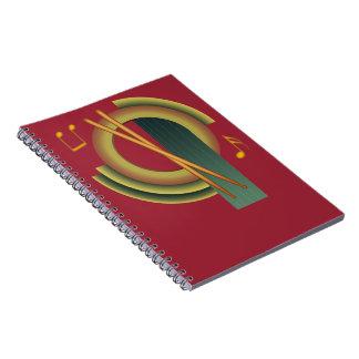Deco Percussion Notebook