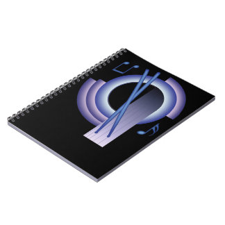 Deco Percussion Spiral Notebook