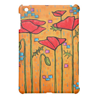 Deco Poppies Cover For The iPad Mini