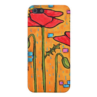 Deco Poppies Covers For iPhone 5