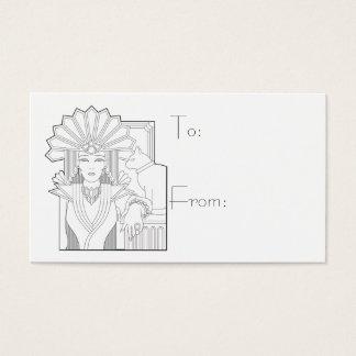 Deco Priestess Business Card