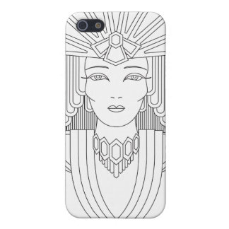 Deco Priestess Cover For iPhone SE/5/5s