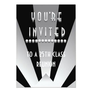 Deco Rays 5x7 Paper Invitation Card