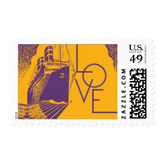 Deco Ship Love | Atelier Isabey Stamps