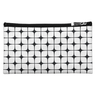 Deco Squares B&W Cosmetic Bag