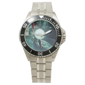 Deco Streamlining Classic Stainless Steel Watch