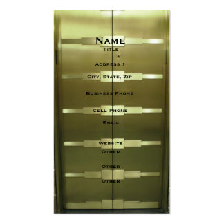 Deco Style Elevator Double-Sided Standard Business Cards (Pack Of 100)